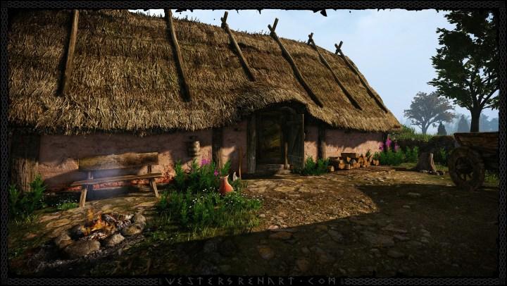 Iron Age hall exterior. Image © Daniel Westergren