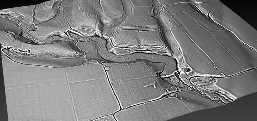 Hammer Wood Camp/Hillfort contour map - generated in planlauf/TERRAIN