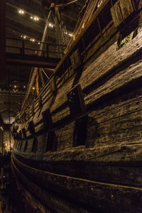 Cannon Ports on the Vasa