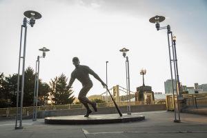 Roberto Clemente Statue
