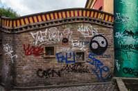 Graffiti Outside Christiania
