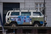 Peace Van in Copenhage