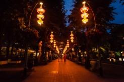 Tivoli Garden Entrance at Night