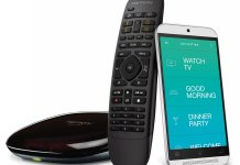 Logitech Harmony Companion All in One Remote Control for Smart Home and Entertainment Devices