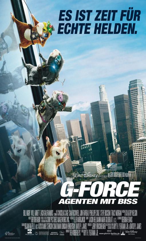 G-Force - Agenten mit Biss  -  deutsches Hauptplakat