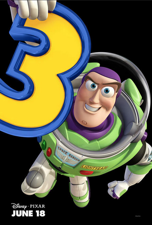 Toy Story 3 - Charakterposter Buzz