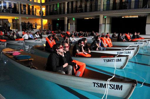 Schiffbruch mit Tiger - Rettungsboot-Screening