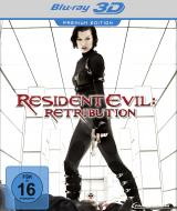Resident Evil Retribution - Blu-ray 3D - Cover