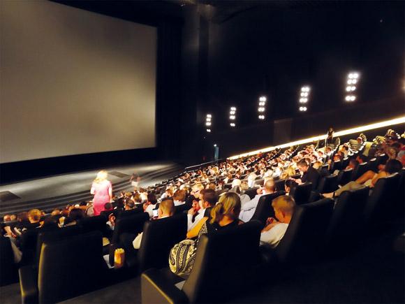 der Kinosaal im CineStar IMAX
