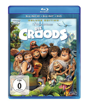 Die Croods  - Blu-ray 3D Cover