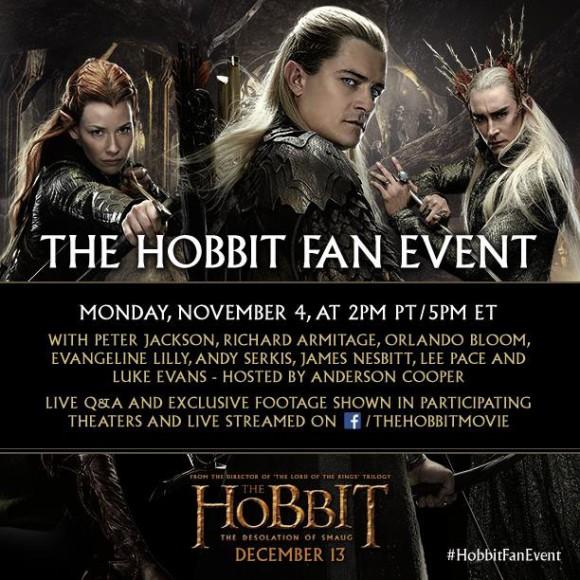 Der Hobbit - Smaugs Einöde -Fan Event