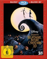 The Nightmare before Christmas- Cover- Blu-ray 3D
