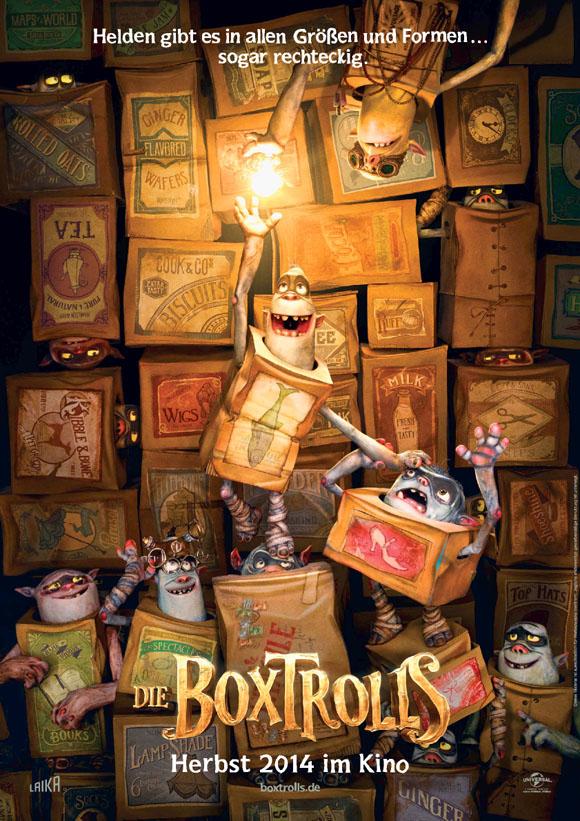 Die BoxTrolls - Teaserplakat