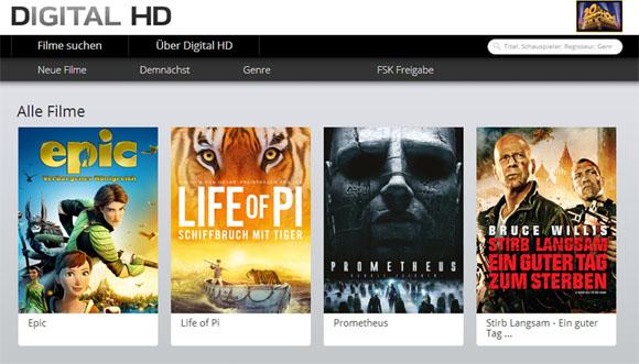 Digital HD