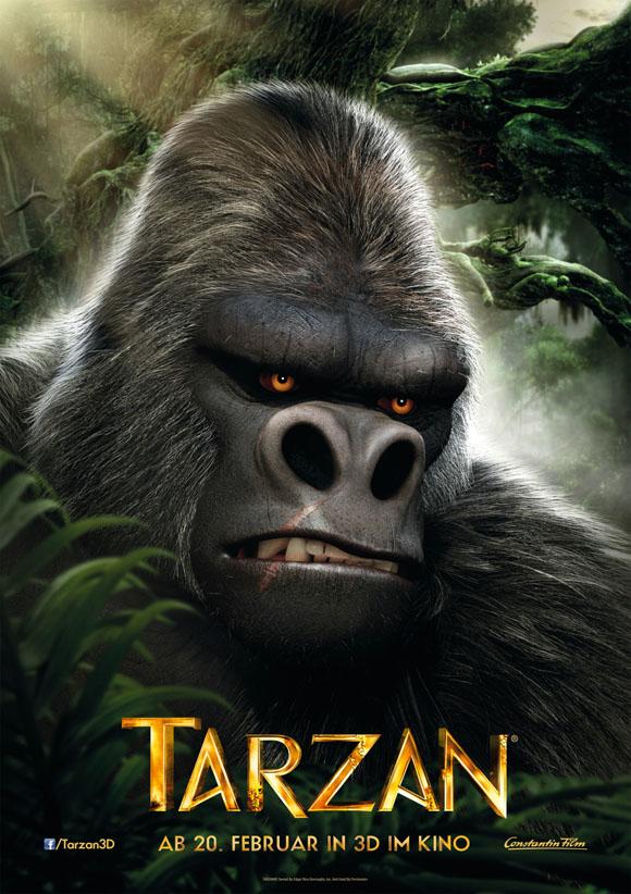 Charakterposter Tarzan