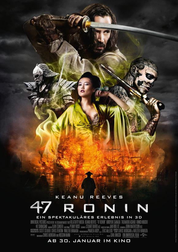 47 Ronin - Plakat