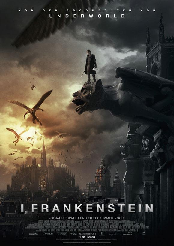 I, Frankenstein - Plakat
