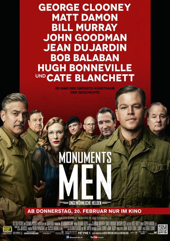Monuments Men - Plakat