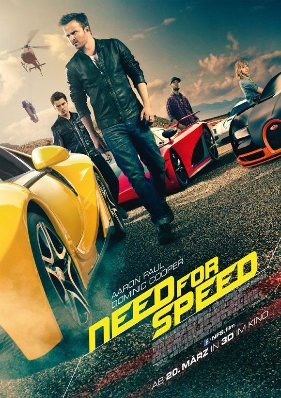 Need for Speed -Plakat