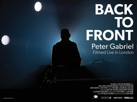 Back to Front - Peter Gabriel