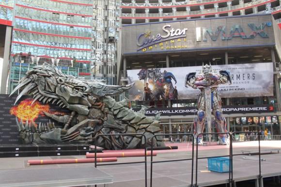 Transformers 4 Europapremiere - Szenenbild 09