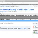 Beispiel Soundcloud