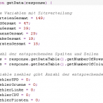 Javascript-Beispielcode