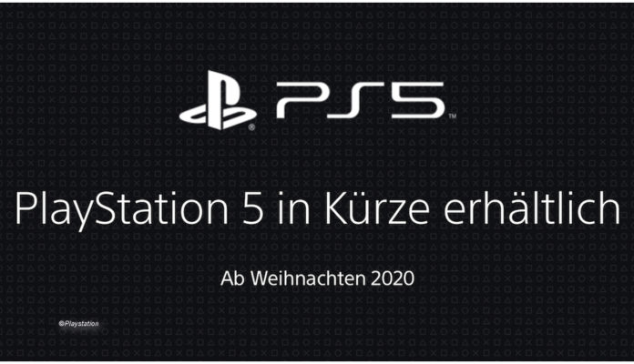 PS5 will be available soon