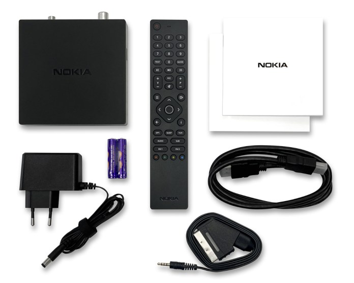 Nokia Terrestrial Receiver 6000 scope of delivery
