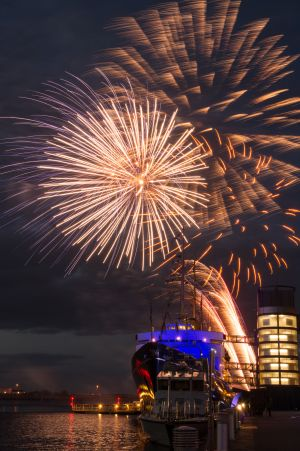Royal Yacht Britannia, Queens Birthday Celebrations