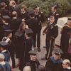 Wake Forest Faculty at Commencement 1976