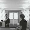 Wake Forest Students Playing Ping-Pong in Dormitory Lounge