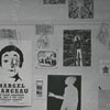 Posters on Wake Forest Dormitory Wall