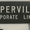 Street Sign on Wake Forest Dormitory Wall