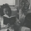 Wake Forest Students Studying in Dormitory Lounge