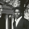 Wake Forest basketball team co-captains Dickie Walker and Charlie Davis