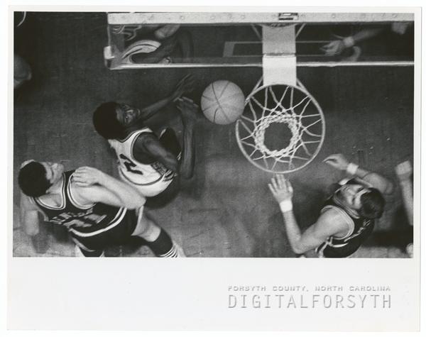 Wake Forest basketball player Charlie Davis