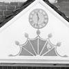 Vogler House Pediment and Trade Sign
