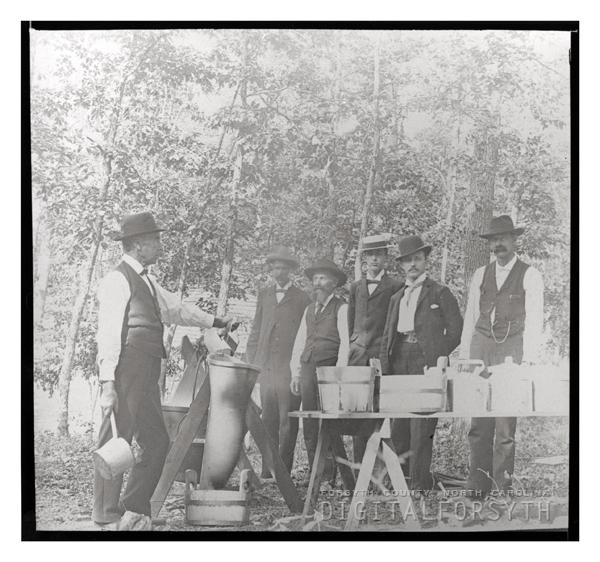 'Making Coffee, Ogburn's Spring'