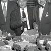 Arthur Spaugh, Sr., Dr. Douglas L. Rights, and Harding E. Scholle