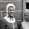 Mrs. Hubert Humphrey Visiting Old Salem