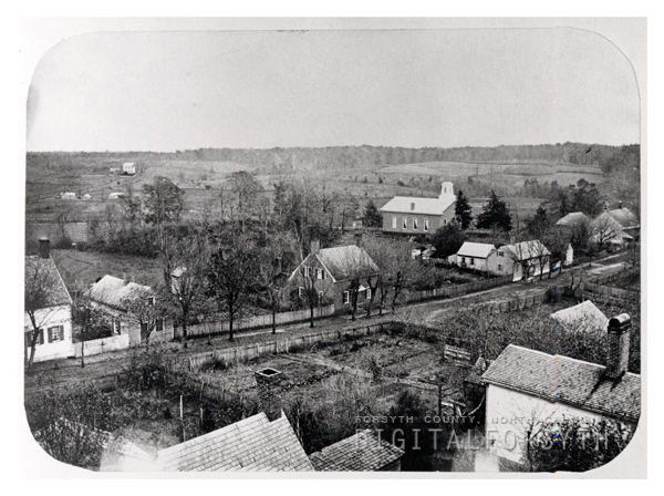 View of Salem from Northwest with St. Philips Church