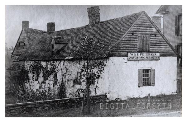 'Cabinet Shop of Wm & Edward Peterson'