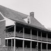 """Old Hotel in Salem N.C. where / Geo Washington stayed"""
