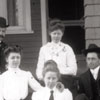 Group of People at the Clemmons Moravian Church Parsonage