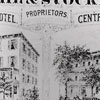 Advertisement for Merchants and Central Hotels