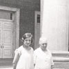Women Outside The Reynolds High School Auditorium