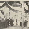 Market stalls at Winston Town Hall.