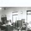 Offices at the Forsyth County Courthouse, 1956.