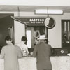 Reservation desk in the terminal at Z. Smith Reynolds Airport, 1947.
